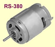RS-380 DC electric motor