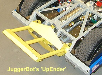 JuggerBot 3.0 'UpEnder' weapon.